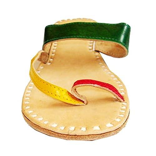 b0b2d18f9bb4 hot sale Multicolour Leather Flats Online shoes Ladies sandals Womens  slipper Ladies shoe