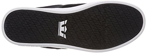 Supra Mixte grey Noir white Ii Stacks Basses black 45 m Baskets Adulte rUrgqHx