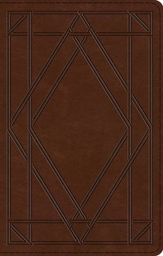 (ESV UltraThin Bible (TruTone, Chestnut, Wood Panel Design))