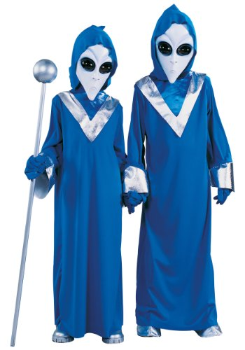 Childrens Alien Costumes (Complete Alien Costume - Large)