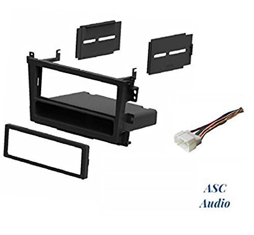- ASC Car Stereo Install Dash Kit and Wire Harness for Installing a Single Din Radio for 2000 2001 2002 2003 Acura CL , 1999 - 2003 Acura TL