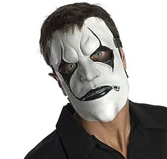Amazon.com: Slipknot James Mask, White/Black, One Size