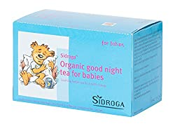 Baby Sleep Tea ~ Organic Good Night and Teething Tea for babies to help soothe teething as well as calm your baby to sleep while alleviating restlessness. Pack of 20 by Sidroga