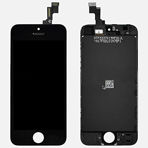 Generic OEM Black Retina LCD Touch Screen Digitizer - Iphone 5c Led Screen Replacement