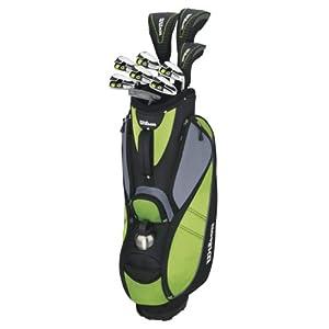 Wilson Damen Golf Komplettset Rechtshand Schläger, mehrfarbig