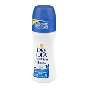 Amazoncom Dry Idea Stain Clear Antiperspirant Deodorant Roll On