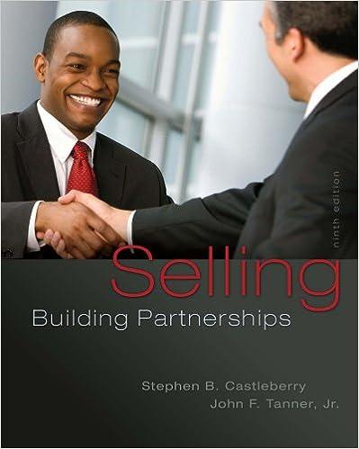 Selling: Building Partnerships, 9th Edition - Original PDF