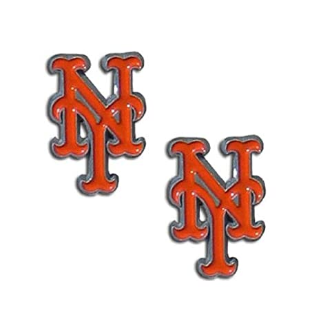 New York Mets Studs Earrings NEW Jewelry SHIPPING FREE U.S.A
