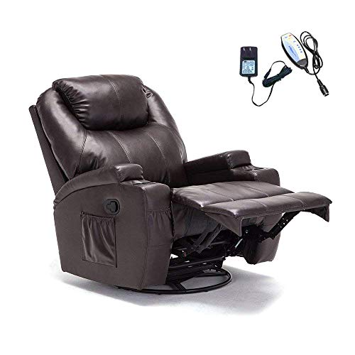 mecor Massage Armchair Massage Recliner Chair, Leather Heated Recliner Sofa...