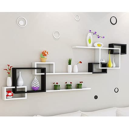 shelf ZI Ling Shop- Wall Living Room Parete Divano Background Parete ...