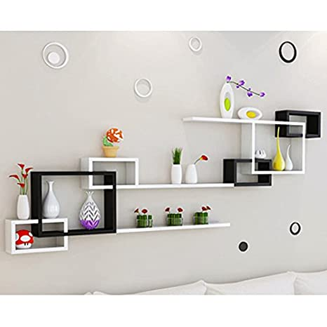ZI LING SHOP- Wall Shelf Living Room Parete Divano Background Parete ...