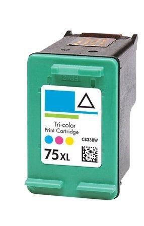 HouseOfToners HP CB338W Color HP 75XL HP-75XL HP75XL 4200 D4260 Z6178 (Alternative Cartridge Replacement)