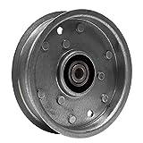 Ariens OEM 4' Flat Pulley-Idler 4.00 07327100 EZR 1540 1740 1742 1842 2042 Zero Turn Mowers