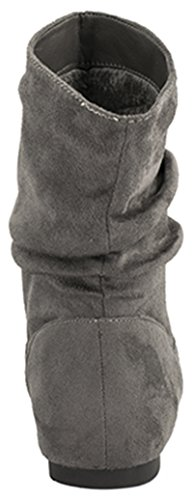 Elara - Botas plisadas Mujer Grau 2 München
