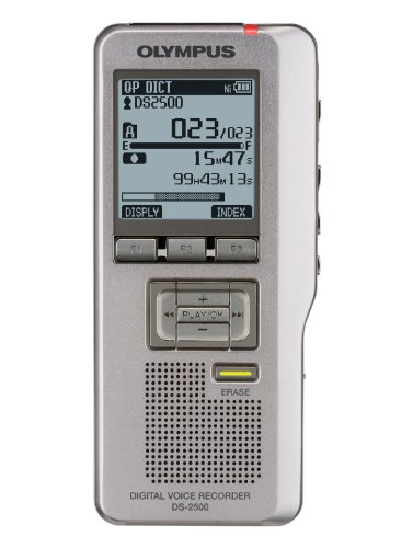 Olympus DS-2500 Digital Voice Recorder by Olympus
