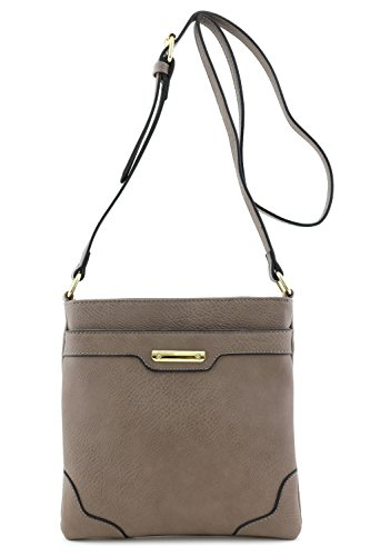 Faux Leather Handbag Purse Bag - 2