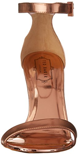 Light Pink Metallic Dress Juliennas Sandal Women's Ted Baker AvqzBB