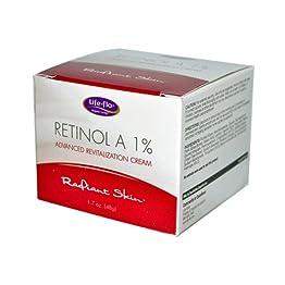 Life-Flo Retinolレチノール A 1% Advanced Revitalization Cream, 1.7 oz