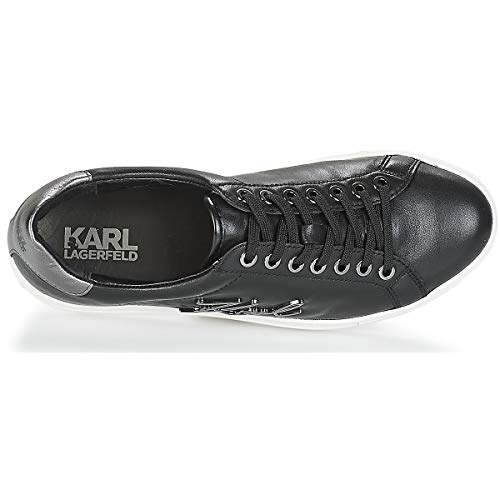 Zapatillas Lagerfeld Kupsole Signia Leather Karl Negro Mujer Lace c17FqgPpw