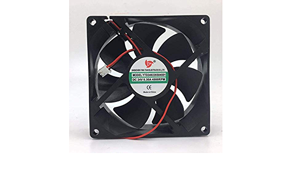 1PC Yingtian YTD248025S000 Cooling Fan Axial fiow 8025 8CM 24V 8025 New