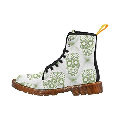 LEINTEREST Skull Martin Boots Fashion Shoes For Men 0bbm0U