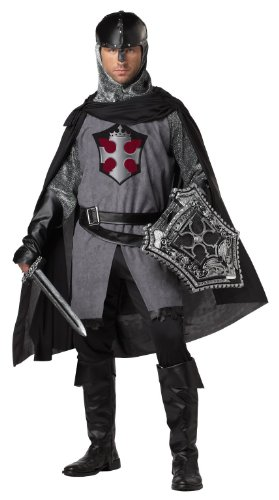 (California Costumes King's Crusader Set, Grey/Black,)