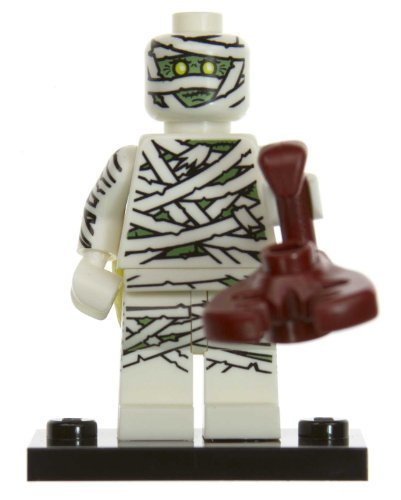 Crazy Mummy: Lego Mini-figures Series #3 [#08] (Mini Mummy Figure)