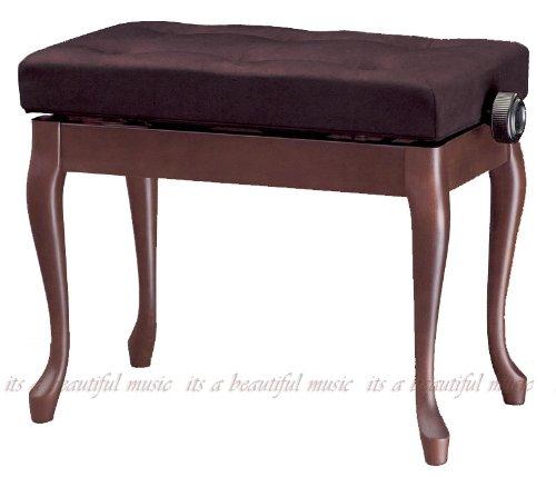 ピアノ椅子 高低タイプ 吉澤 Yoshizawa Y-50N (半つやウォルナット/布座面)   B006ZH5JG2