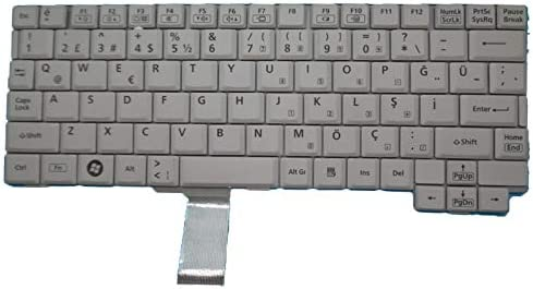 Laptop Keyboard for Panasonic ToughBook CF-C1 HMB3329CPI29 02A Turkish TR White New and Original