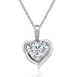 Lab Grown Diamond Heart Shape Pendant
