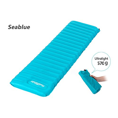 - OSOPOLA Lightweight Self-Inflating Camp Air Pad Camping Comfortable for Backpacking Mountaineering