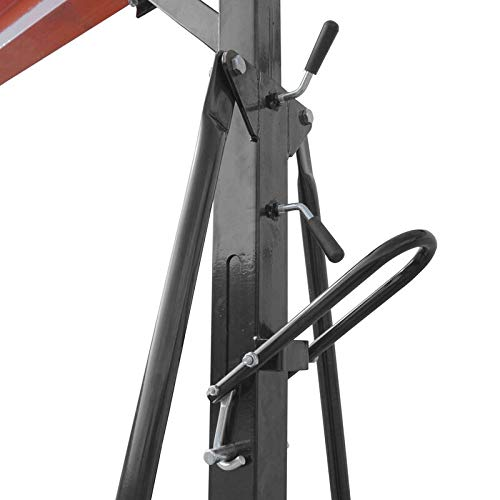 4000 lb Capacity Titan Attachments 2 Ton Adjustable Gantry Crane
