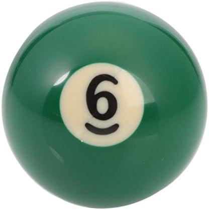 Mzamzi - Gran valor bolas de billar número 6 de billar bola ...