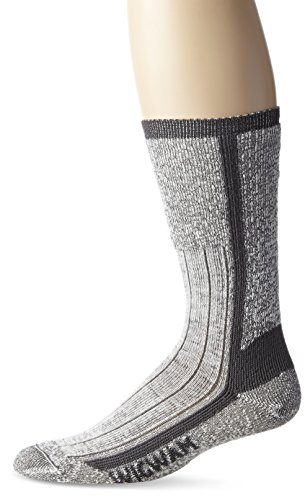 Wigwam Men's At Work Foot Guard Sock,Charcoal,Large /shoe Size:Men's 9-12,Women's 10-13