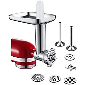 Amazon Com Kitchenaid Ssa Sausage Stuffer Kit Attachment