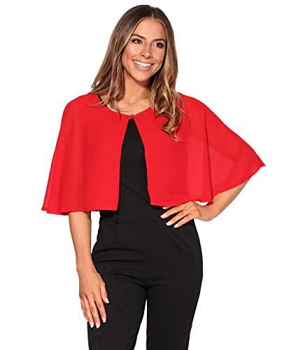 KRISP Capa Gasa Elegante Fiesta Rojo (2898)