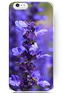 SPRAWL New Beautiful Snap On Hard Cover Shell Elegant Lavender 4.7 Inch Iphone 6 Flower Case