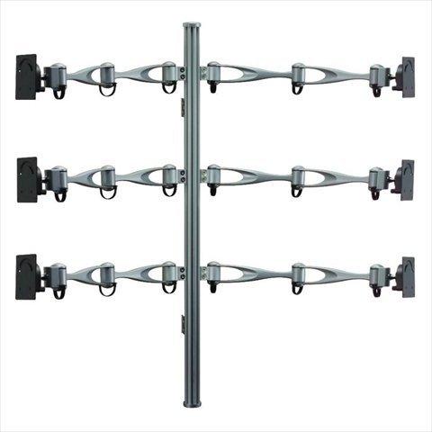 Cotytech Wandhalterung Vertikale Monitor Wandhalterung für Sechs Bildschirmen (MW (61A2)