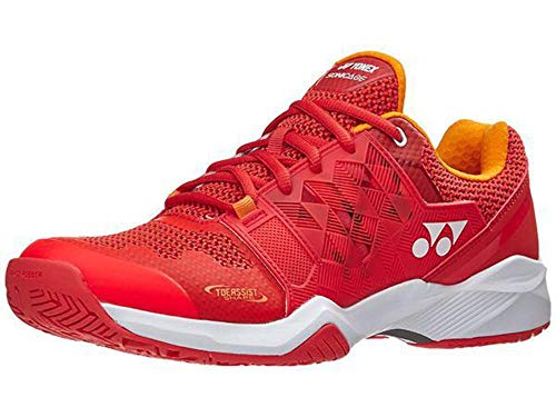 YONEX Power Cushion Sonicage Mens Tennis Shoe - Orange - Size 11.5