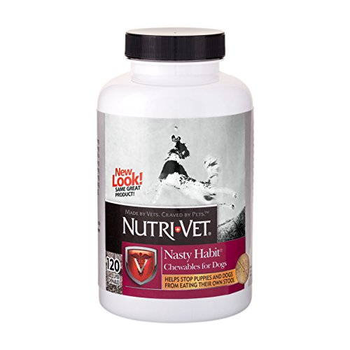 Nutri-Vet Nasty Habit Chewables, 120 Count