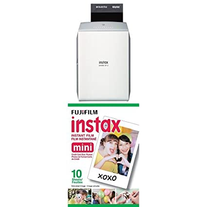 Fujifilm Instax Share Smartphone Printer SP2 (Silver) with Twin Pack Film