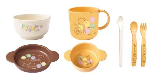 Winnie the Pooh Smile Tableware Set Combi