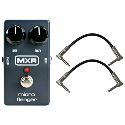 MXR M152 Micro Flanger w/(2) 6'' patch cables by MXR