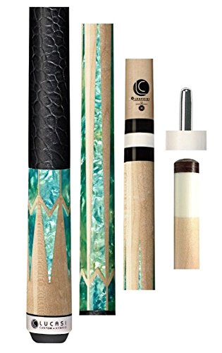 Lucasi LUX25 Special Edition Pool Cue Stick - 12.75mm Spliced Zero Flexpoint Shaft - Lucasi Flexpoint Shaft