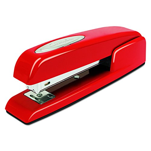 Swingline Stapler, 747, Manual, 25 Sheets Capacity, Business, Desktop, Rio Red (Capacity Manual)