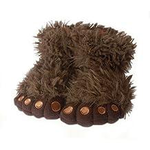 Eliana and Eli Brown Gorilla Boy Unisex Slippers