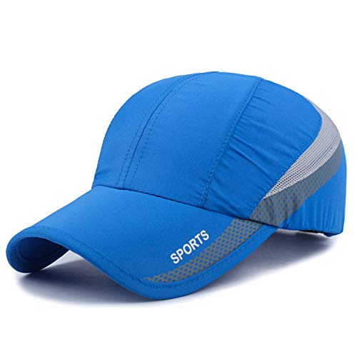 (Quick Drying Lightweight Baseball Cap Outdoor Airy Mesh UV Protection Sun Hats)
