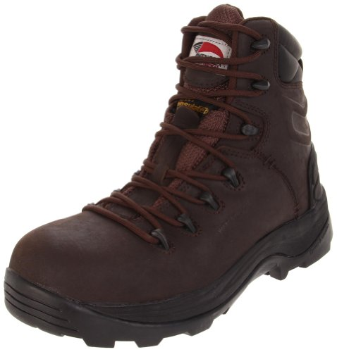 Avenger Safety Footwear Heren 7270 Laars Bruin