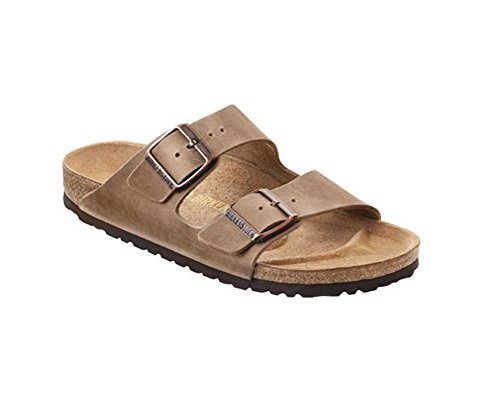 - Birkenstock Arizona Birkibuc Sandal,Waxy Leather Tobacco Brown,46 N EU/13-13.5 2A(N) US Men