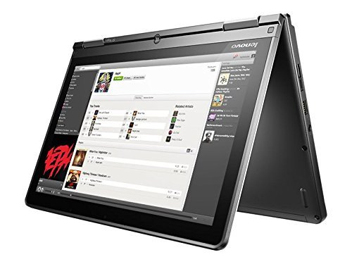 Lenovo Thinkpad Yoga 11E Premium High Performance 11.6 in IPS Touchscreen Convertible 2-in-1 Laptop (2017), Intel Core M-5Y10c, 4GB RAM, 128GB SSD, WiFi, Bluetooth, HDMI, Webcam, Windows 10 Pro